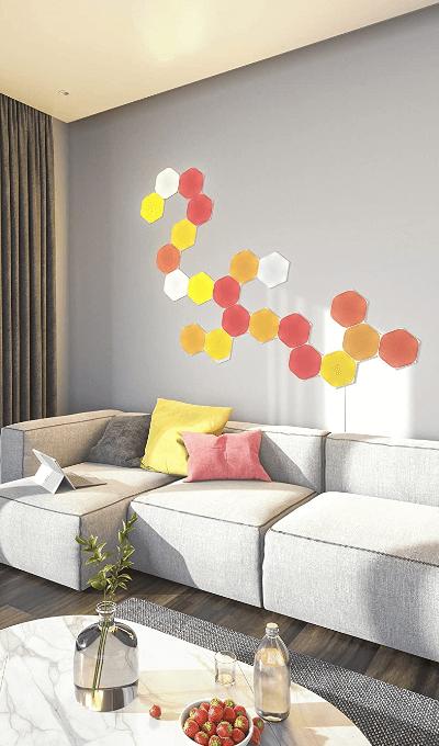 Nanoleaf-Shapes-paneles-LED