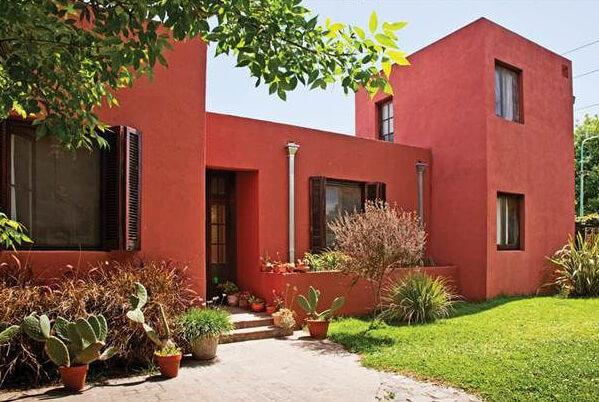 Pintura-acrilica-para-fachada-exterior-Rojo-Teja-Rugoplast